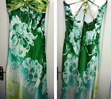 РАСПРОДАЖА! Вечернее платье Изумрудное, новое, про-во Турция, срочно