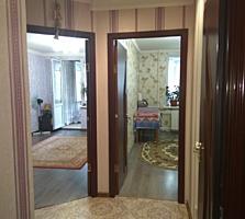 2-комнатная секция, 4/7эт. балкон, кухня. Ремонт 39,2 м2 Текстильщики.