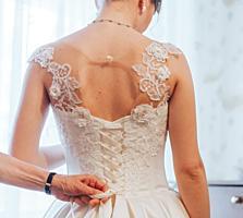 Продам свадебное платье (не венчанное) 150$