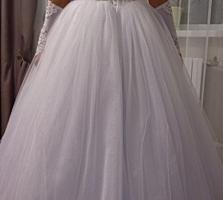 Срочно продается свадебное платье
