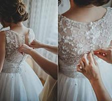 Продам свадебное платье срочно!!! 2000 лей