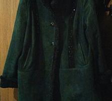 Продам пальто кожа 52-54, дубленка 54