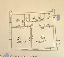 Продам 2-комнатную сталинку на Красных Казармах, 1/3 эт., 61 кв.
