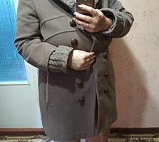 Пальто. Настоящий кашемир.
