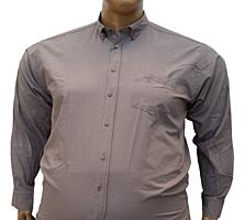 Мужские рубашки хлопок большого размера.