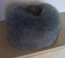Продам шапку женскую, песцовую, б/у