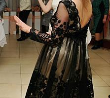 Красивое чёрное платье, раз. М,
