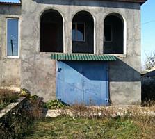 Продается дом в сером варианте в с. Карагаш