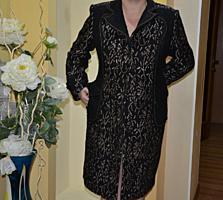 Красивое пальто размер 54