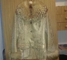Демисезонная натуральная курточка