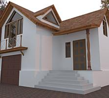 Строящийся дом район НИИ