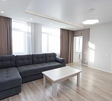 Apartament cu 2 camere in bloc nou, cu mobila si tehnica noua.