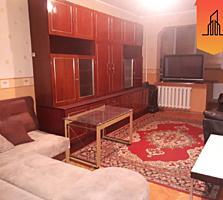Se vinde apartament cu 3 camere la Botanica, mobilat si utilat!