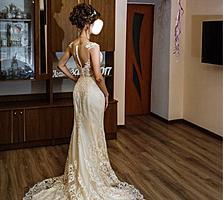 Свадебное платье в очень хорошем состоянии!