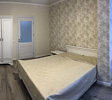 Centru, G. Casu! Bloc nou, apartament cu 2 odai. Euroreparatie, mobila
