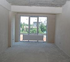 Buiucani. Apartament cu 2 camere in bloc nou, varianta alba, 71 m. p.