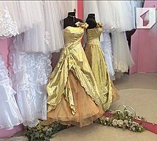 Распродажа новых свадебных нарядов и аксессуаров, недорого
