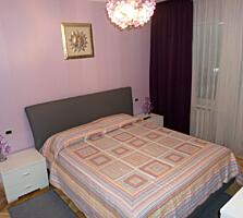 Vânzare apartament 3 camere, 75 m2, euroreparație, mobilat, Riscani!