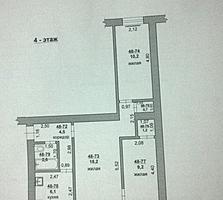 Продам трехкомнатную квартиру по ул. Ленина