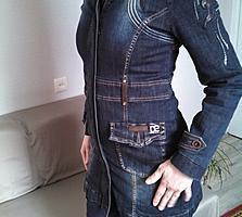 Френч джинсовый