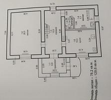 Продаётся двухэтажный дом в г. Бендеры. Торг уместен.