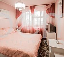 Apartament mare cu 3 camere separate, 74m2,3 balcoane, seria 143