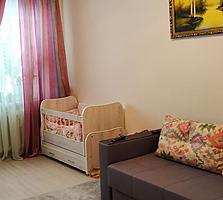 Se vinde apartament cu 1 cameră la Riscani! Euroreparatie, mobilat.
