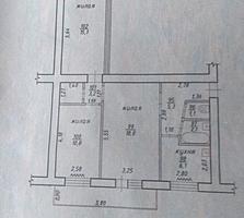 Трехкомнатная квартира на Федько
