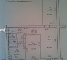 Хорошая 3-комнатная квартира с 6-ти метровым балконом