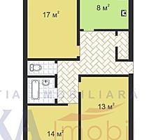 Продам 3 ком. квартру. Молдавской Серии-Автономное отопление