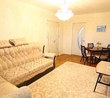 Riscani, Studentilor. Se vinde apartament cu 2 camere, mobilat.