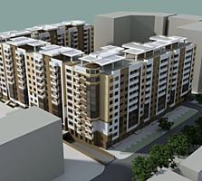 Alba Iulia. Complex locativ nou, apartament in varianta alba, 49 m2.