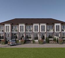 Townhouse 2 dormitoare + bucatarie cu living