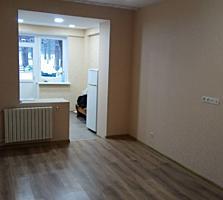 Riscani, Saharov. Apartament cu 1 odaie + subsol, reparatie cosmetica.