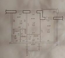 Продается 2-х комнатная квартира в новострое (белый вариант)