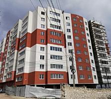 Buiucani. Bloc nou, apartament cu 1 camera - 40 m2, varianta alba.