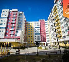 Centru! Bloc nou, apartament nou cu euroreparatie si complet mobilat.