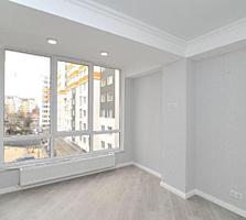 Centru! Bloc nou! Apartament cu 1 camera + living, euroreparatie!