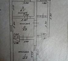 Продается дом на Балке. Саманный, Гараж. 4 с.