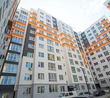 Centru! Bloc Nou! Apartament cu 1 dormitor + living - 49 m. p.