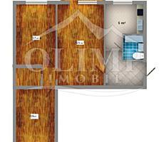 3-комнатная на Дачии
