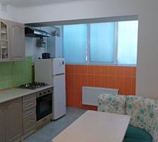 Vând apartament cu 1 camera la Durlești, bloc nou, reparație, autonoma