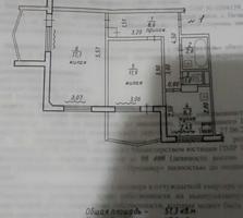Продается 2-комнатная квартира в г. Днестровск