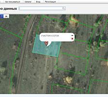 6 соток, дачный участок, рядом с с. Думбрава, 2 км. от АЗС PETROM