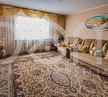 Apartament mare cu 3 camere separate, 74 m2, 3 balcoane, seria 143.