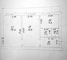 Продам 2-комнатную квартиру в районе швейной фабрики, Пушкина, 4
