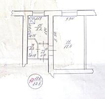 Однокомнатная квартира 28 м2, ул. Гардейская дом №8, 3-ий эт.. 6000$
