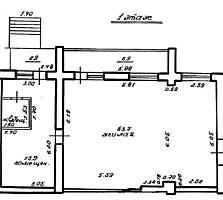 Квартира 81 кв. м. Кишиневская. Отдельный вход.
