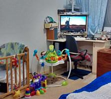 Квартира с раздельными комнатами, косм. ремонт