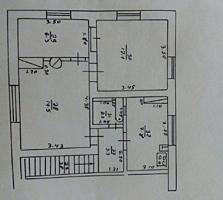 СРОЧНО! 3-х комнатная квартира на станции Фалешты